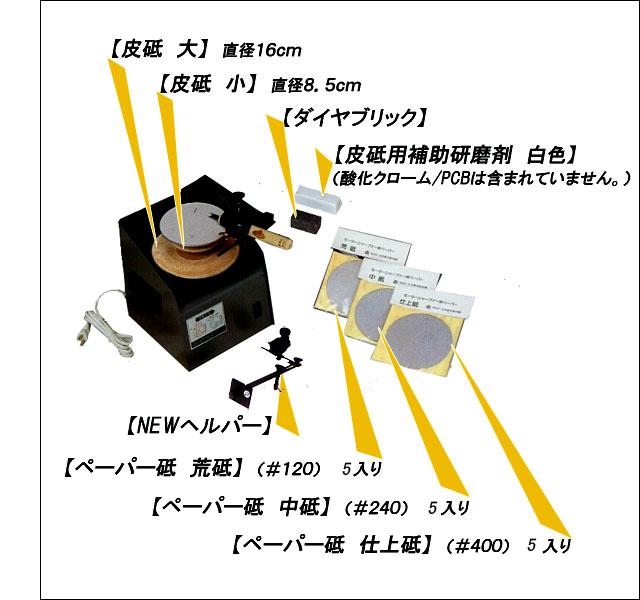 モーターシャープナー使用用途