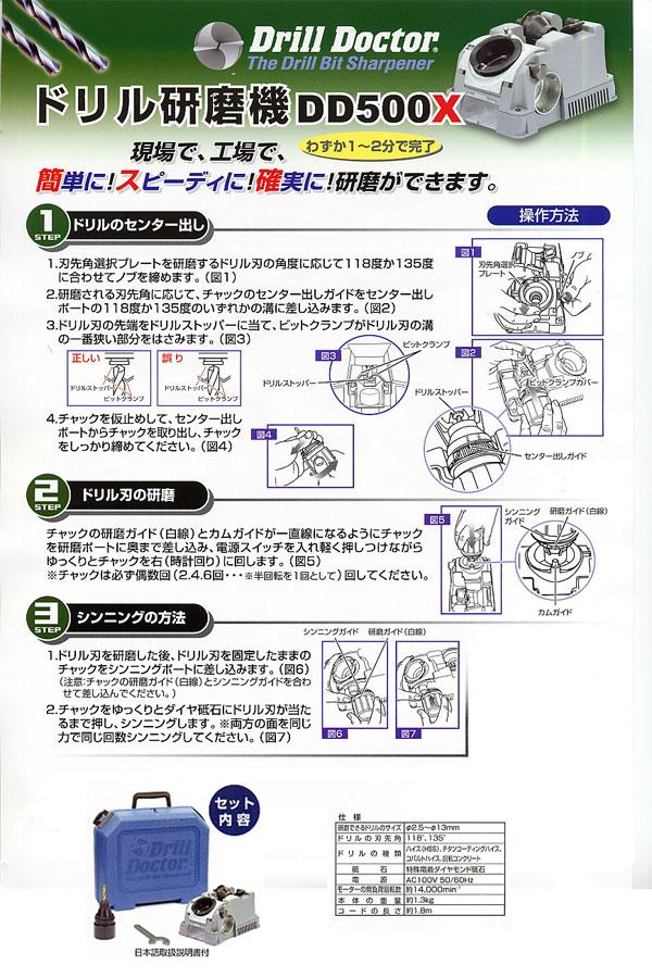 ドリルドクターの説明